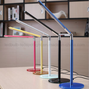 Stylish Design Touch Control Dimmer LED Desk Lamp with USB Port pictures & photos