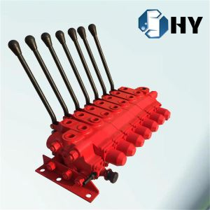 7 Spool Hydraulic Flow Control Valve Manual for Crane Truck pictures & photos