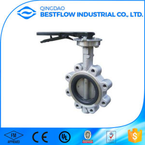 Cast Carbon Steel Wafer/Lug Butterfly Valve pictures & photos