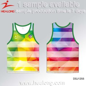 Full Sublimation Customized Soccer Jersey From Healong Company pictures & photos