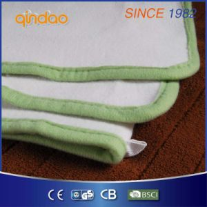 Qindao Comfortable Fleece Electric Heated Blanket with Ce GS Certificate pictures & photos