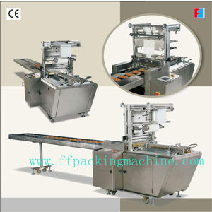 PLC Control Automatic on Edge Biscuit Overwrapping Machine pictures & photos