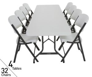 Garden Furniture HDPE Plastic Folding Dining Tables (BR-T003) pictures & photos