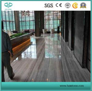 Sandblasted/Honed/Polished/Golden/Beige Silver River Marble for Wall/Flooring/Stairs pictures & photos