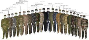British Desert Acu Suit Customized Outdoor Training Military Uniform pictures & photos