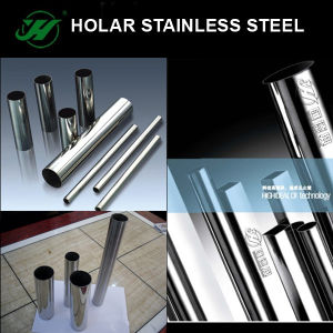 Stainless Steel Staircase Handrail Welded Pipe pictures & photos