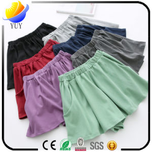 Sexy Fashion Women′s Pantskirt Casual Shorts with Short Skirt pictures & photos