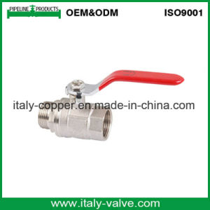 Ce&ISO Italian Brass Forged Male Ball Valve (AV-BV-1044) pictures & photos