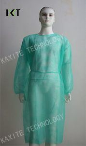Disposable Nonwoven Isolation Gown with Elastic/Knitted Cuff pictures & photos