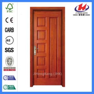 Latest Designs Double Wooden MDF/HDF Molded Venner Door (JHK-010) pictures & photos