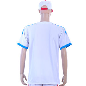 100% Polyester Breathable and Comfortable Soccer Shirt with Round Neck pictures & photos