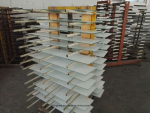 Color Painted Toughened Shutter Glass with CE Australia Certificate pictures & photos