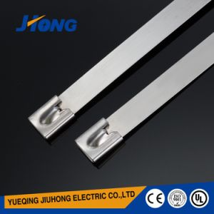201 / 304 / 316 Ball Locking Stainless Steel Ties pictures & photos