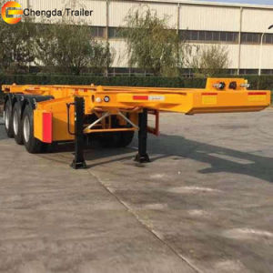 China Manufacture Chengda Skeleton Container Semi Trailer for Sale pictures & photos