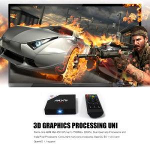 Factory Saled TV Box Mx8 Amlogic S905 Quad-Core Android 6.0 Storage2+16GB H. 265 pictures & photos
