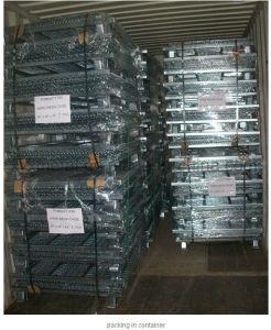 Australia Storage Metal Steel Wire Mesh Pallet Stillage Container pictures & photos