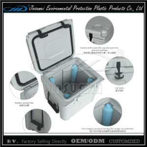 Rotational Plastic 22L 32L 52L Cooler Box for Food Storage pictures & photos