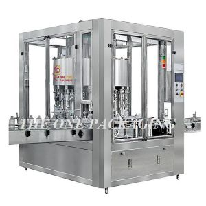 Cheap Automatic Rotary Liquid Filler Bottle Filling Machine pictures & photos