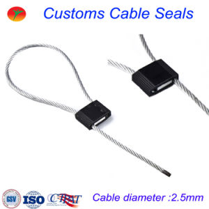 Cable Seals High Security Seal for Truck, Door, Container (2.5mm) pictures & photos