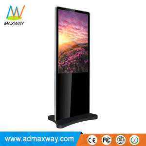 Multi-Zone Display and Slim Type 55 Inch Floor Stand Indoor LCD Advertising Player (MW-551AJN) pictures & photos