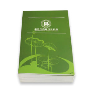 Perfect Binding Professional Softcover Book Custom Brochure Printing pictures & photos