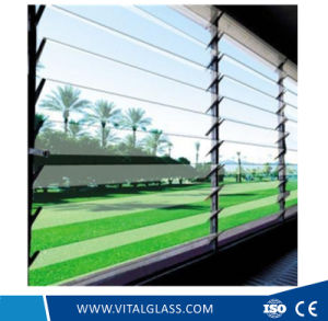 Blue/Green/Clear Louver Glass for Window Glass with CE&ISO9001 pictures & photos