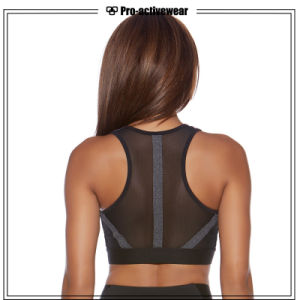 Breathable Dri Fit Singlet Fitness Yoga Tank Top Gym Wear for Ladies Fitness Running Custom Yoga Sports Bra pictures & photos