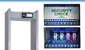 Gate Type Walk Through Scanner Metal Detectors pictures & photos
