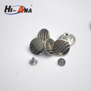 Free Sample Available Good Price Remove Metal Buttons Jeans pictures & photos