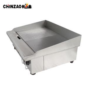 Catering Equipment Half Grooved Electric Hotplate Griddle (DPL-550-2) pictures & photos
