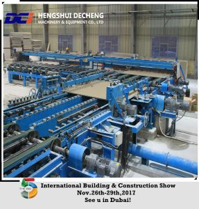 Full Automatic Gypsum Board Line with Gas Hot Air Stove pictures & photos