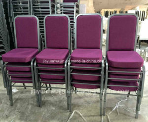 Molded Seat Stacking Metal Church Banquet Chairs (JY-G12) pictures & photos