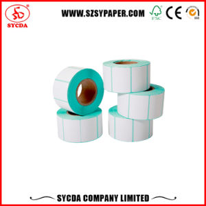 Good Price Thermal Printing Adhesive Paper Stickers Rolls and Sheets pictures & photos