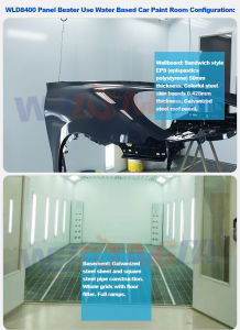 Car Spray Baking Oven for Water Based Paint Wld8400 CE pictures & photos