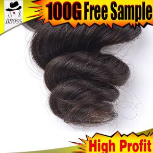 Human Hair Pieces Brazilian Hair pictures & photos