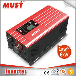 2000W 24VDC to 120VAC Pure Sine Wave Power Inverter with Charger pictures & photos