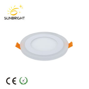 AC85-265V 2700K-7000K 3W6w9w12W18W Aluminum LED Panel Light with Ce, RoHS Approval pictures & photos