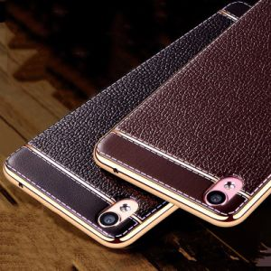 Upscale TPU Leather Phone Case Cover for iPhone X pictures & photos