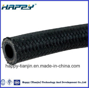 Steel Wire Braid Textile Covered Industrial Hydraulic Hose SAE100 R5 pictures & photos
