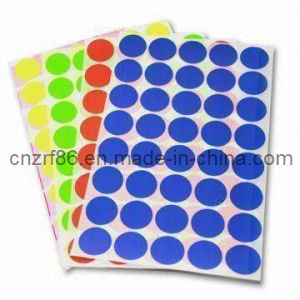 Custom Adhesive Label Printing Service pictures & photos