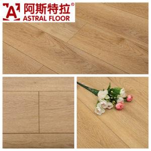 German Technology CE Silk Finish White Oak Laminate Flooring (AJ1610) pictures & photos