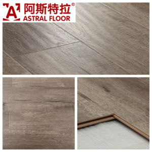 Waterproof with Wax 12mm Handscraped Grain Laminate Flooring (9102) pictures & photos