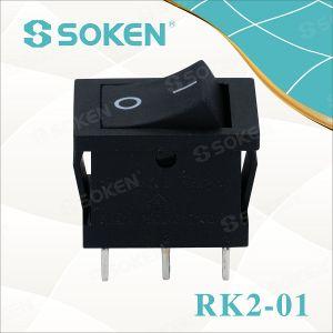 Soken Double Pole TUV VDE ENEC Rocker Switch T85 pictures & photos