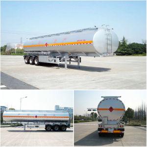 Straight Aluminum Tanker Trailer 40000L~45000L 3 Axle 6% Expansion