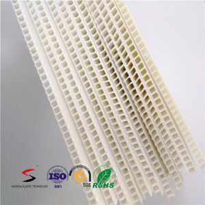 White Corona Treated Corrugated Plastic Sheets pictures & photos