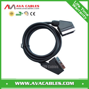 Scart to Scart AV Video Cable