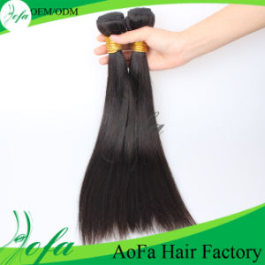 Aofa Hair Manufacturers Wholesale 7A Grade 100% Human Hair Extentions pictures & photos