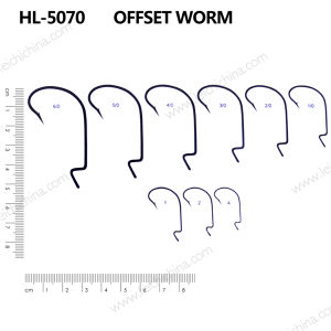 Wholesale Top Quality Worm Fishing Hook pictures & photos