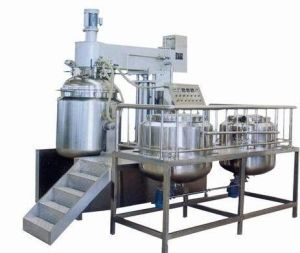 Vacuum High-Speed Emulsifying Mixer Machine for Cosmetic pictures & photos