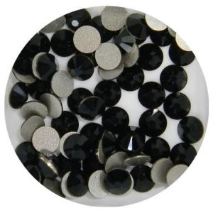 1440 PCS Ss6 (2.0mm) High Quality Crystal Flatback Rhinestones - Jet Black No Hotfix pictures & photos